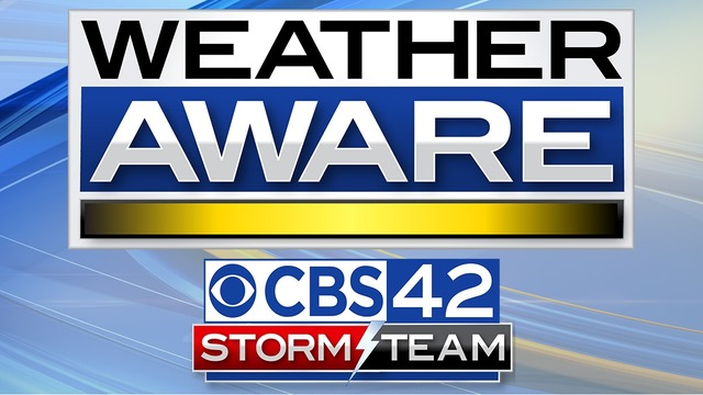 SEVERE WX: Threats over for Central Alabama