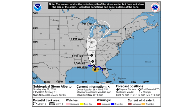 Map Of Alabama And Florida.Tropical Storm Warning In Effect For Areas Of Alabama Florida Gulf