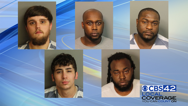 Jefferson County Sheriff's Office arrests five men on separate drug