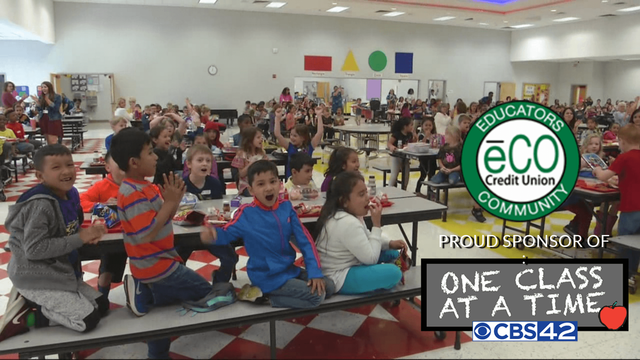 Apply for the CBS 42 One Class at a Time grant