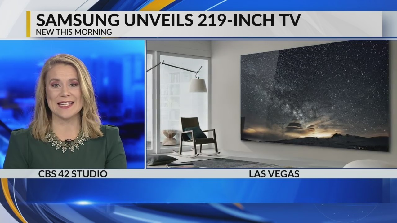 Samsung Unveils The Wall Tv