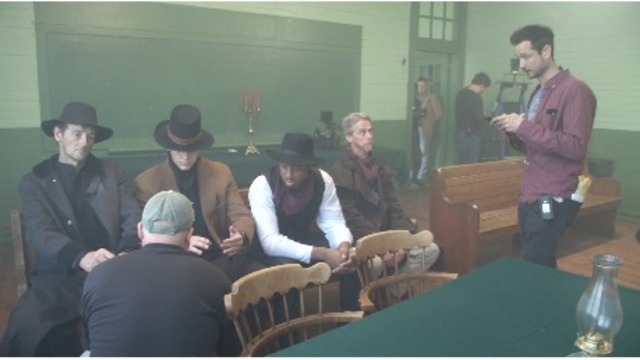Filming wraps up for western thriller 'Hell on The Border' in McCalla