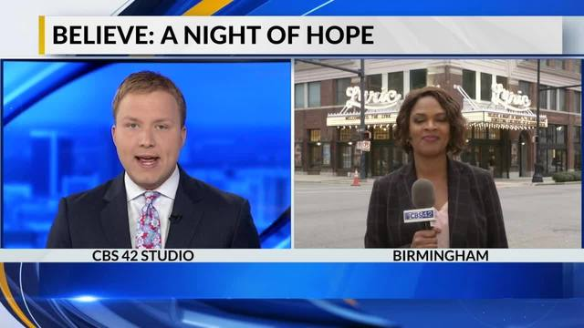 Believe! A night of Hope happening Tuesday night