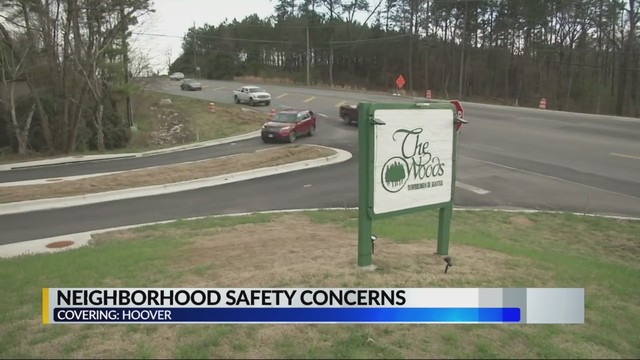 Hoover residents voice concerns about safety near