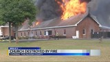 Tuscaloosa church destroyed by four alarm fire