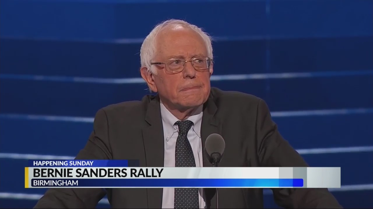 Sunday: Bernie Sanders hosts rally at Kelly Ingram Park, here's what to expect