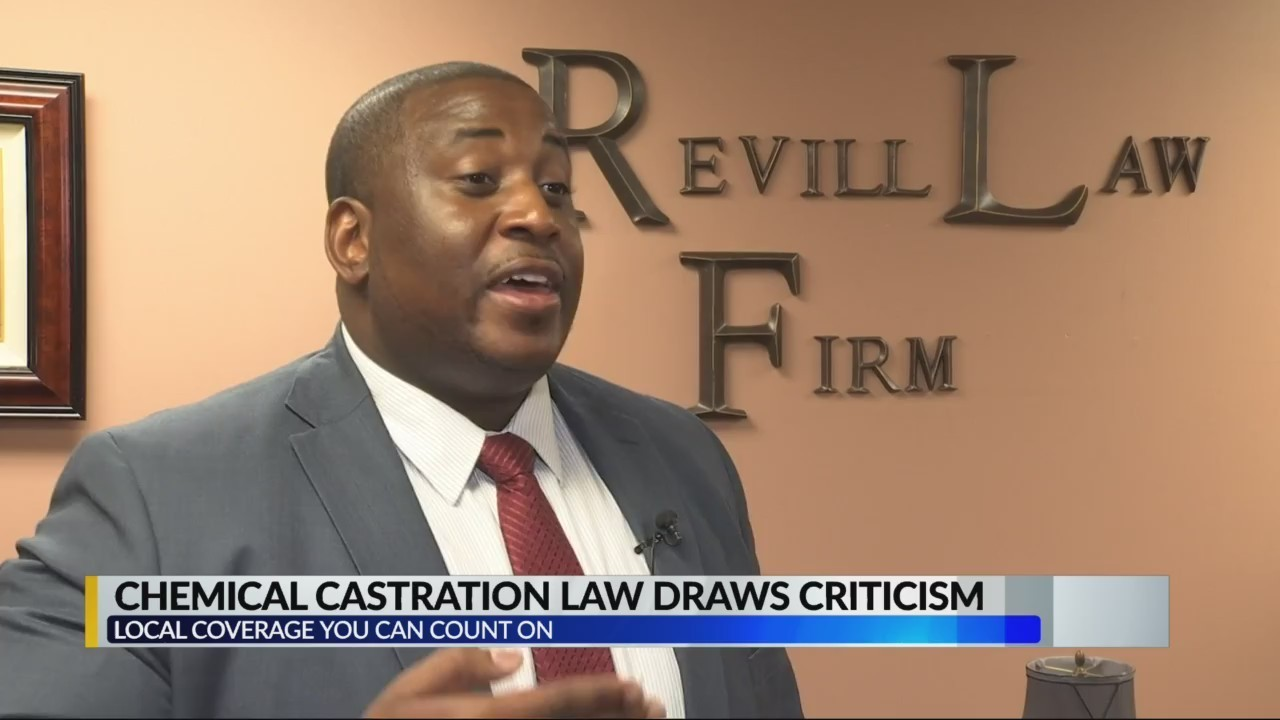 Chemical castration law draws criticism